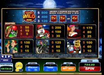 santas wild ride slot screenshot 3