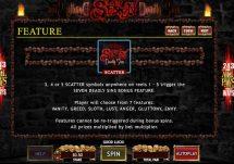 seven deadly sins slot screenshot 4