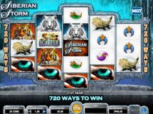 siberian storm slot screenshot 1