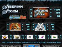 siberian storm slot screenshot 2