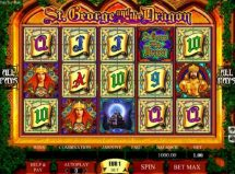 st george and the dragon slot screenshot 1