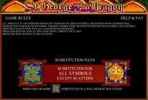 st george and the dragon slot screenshot 3