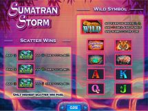 sumatran storm slot screenshot 3
