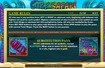 surf safari slot screenshot 2