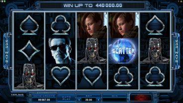 Terminator 2 slot screenshot 1