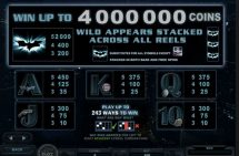 the dark knight rises slot screenshot 3
