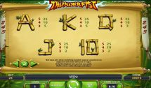 thunderfist slot screenshot 2