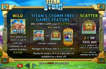 titan storm slot screenshot 2