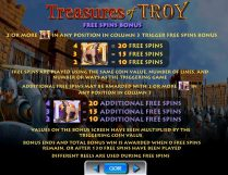 treasures of troy 40 slot screenshot 3