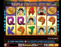 triple fortune dragon slot screenshot 1
