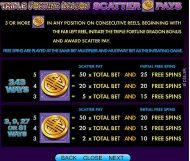 triple fortune dragon slot screenshot 4