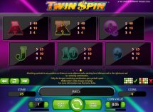 twin spin slot screenshot 4