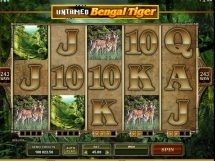 untamed bengal tiger slot screenshot 1