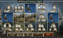 untamed crowned eagle slot screenshot 1