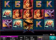 valkyrie queen slot screenshot 1