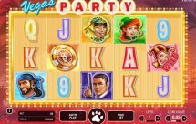 vegas party slot screenshot 1
