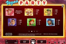 vegas party slot screenshot 3
