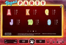 vegas party slot screenshot 4