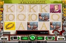 victorious slot screenshot 1
