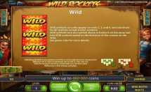 wild rockets slot screenshot 2