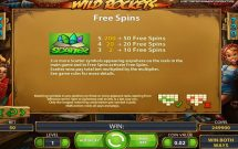 wild rockets slot screenshot 3