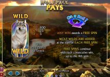 wolfpack pays slot screenshot 2