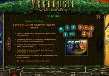 yggdrasil the tree of life slot screenshot 2