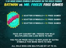 batman and mr freeze slot screenshot 3