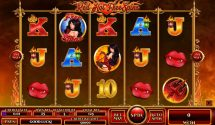 red hot free spins slot screenshot 1