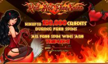 red hot free spins slot screenshot 3