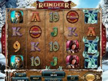 reindeer wild wins slot screenshot 1