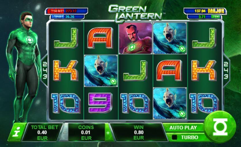 Free Green Lantern Slot Game