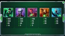 green lantern slot screenshot 4