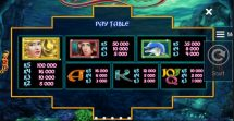 jewels of the sea slot screenshot 2