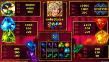 marilyns diamonds slot screenshot 2