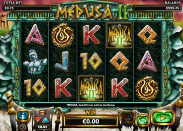 Medusa 2 slot screenshot 1