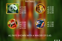 rich panda slot screenshot 2