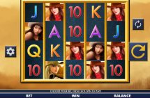 belles bandits slot screenshot 1