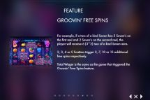 fruity grooves slot screenshot 4