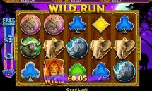 wild run slot screenshot 1