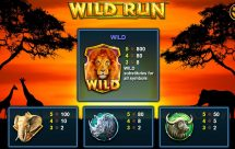 wild run slot screenshot 2