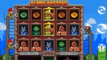 flame busters slot screenshot 1