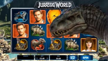 Jurassic World slot screenshot 1