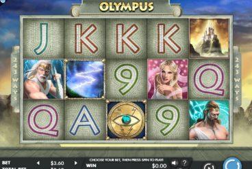 Olympus slot screenshot 1