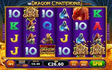 Dragon Champions slot slot screenshot 1