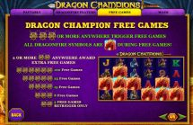 dragon champions slot screenshot 4