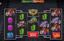 monster wheels slot screenshot 1