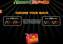 monster wheels slot screenshot 2