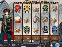 opera of the masks slot screenshot 1