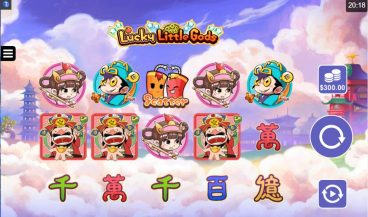 Lucky Little Gods slot screenshot 1